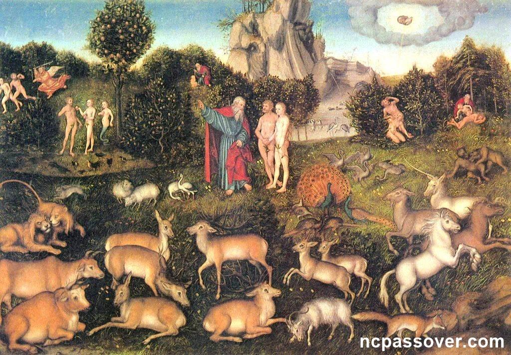 The secret of the Garden of Eden, the new covenant Passover