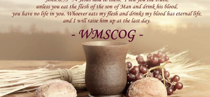 The definite prophecy and promised salvation, The Passover – 22 [WMSCOG]
