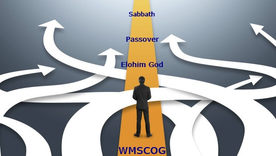 The only way proceeding to Elohim God, The new covenant Passover – 25 [WMSCOG]