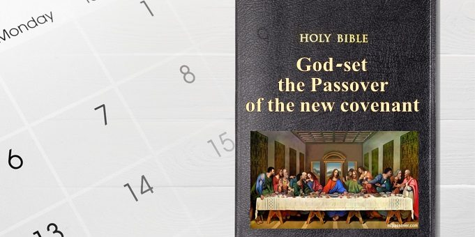 God-set the date of the new covenant Passover – 32 [WMSCOG]